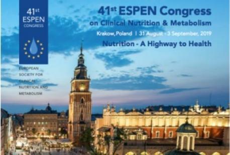 41st ESPEN Congress on Clinical Nutrition & Metabolism