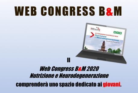 Il Web Congress B&M 2020 comprenderà uno spazio dedicato ai giovani