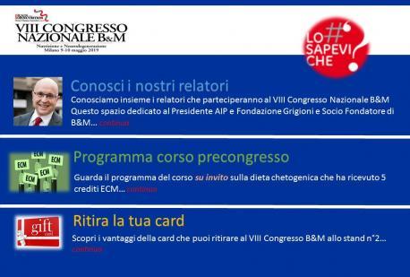 N°3 - Guida al VIII Congresso Nazionale B&M