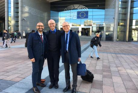 Novembre 2018, Il Dr. Cilia al PARLAMENTO EUROPEO