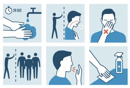 CORONAVIRUS: Le regole per la disinfezione / lavaggio delle mani