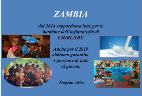 IL NOSTRO SOSTEGNO ALL'ORFANOTROFIO DI CHIRUNDU, ZAMBIA