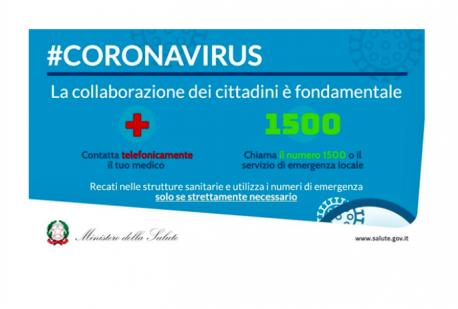 CORONAVIRUS - LE COSE DA SAPERE