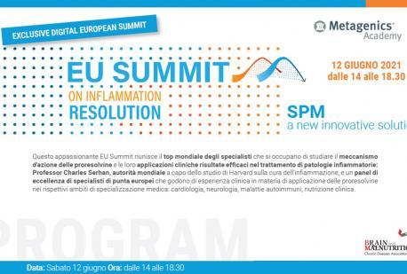 EU Summit on inflammation resolution