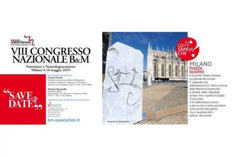 VIII CONGRESSO NAZIONALE B&M, 9-10 maggio 2019 - SAVE THE DATE!!! - CURIOSITA' SU MILANO PIAZZA DUOMO