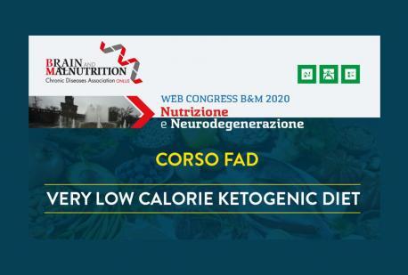 CORSO FAD Very Low Calorie Ketogenic Diet